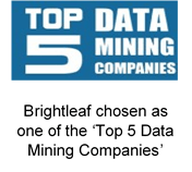 Brightleaf in top 5 data mining companies