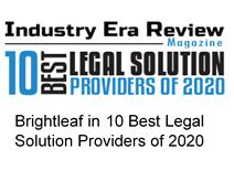 Brightleaf in 10 best legal solution provider