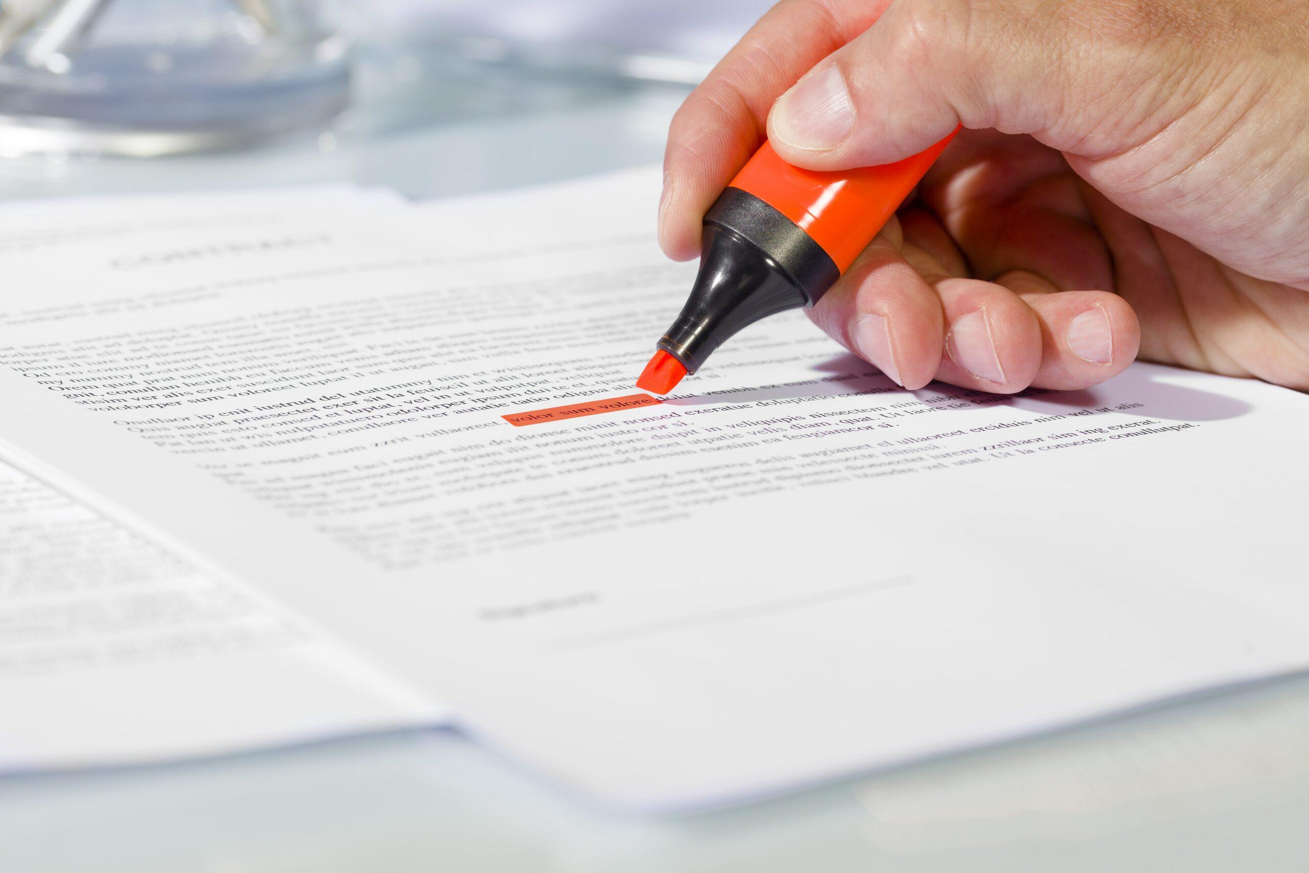 Contract risk scoring whitepaper